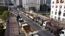 ant violence againsta truck drivers demo in Sao Paolo