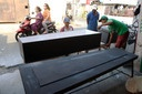 Covid-19 Coffin Production in Indonesia