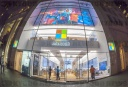 Microsoft store in New York