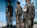 Demilitarised Zone (DMZ) between North and South Korea