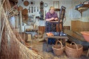 Basket maker - a dying craft trade
