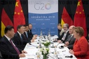 G20 Summit in Argentina - Merkel and Xi Jinping