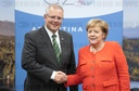 G20 Summit in Argentina - Merkel and Morrison
