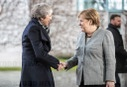 Chancellor Merkel receives Theresa May