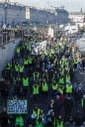 Yellow Vests protest in Bordeaux acte 8.