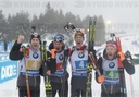 Germany Biathlon World Cup Relay Men