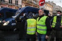 Act 9 of yellow vest protest in Bordeaux