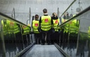Warning strike by security personnel at Frankfurt Airport