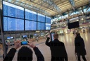 Warning strike by security personnel at Hamburg Airport