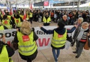 Warning strike by security personnel at Hanover airport