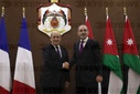 French Foreign Minister visits Jordan