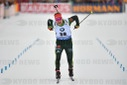 IBU Biathlon World Cup in Ruhpolding / Sprint of the men.