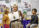 Princess Laurentien reads during the National Reading Breakfast