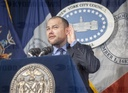 New York City Council news conference on pending legislation