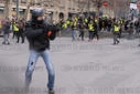Jerome Rodrigues at the Act 12 of Yellow Vests Protest - Paris