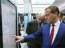 Prime Minister Dmitry Medvedev's working trip to St. Petersburg