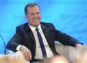 Prime Minister Dmitry Medvedev attends United Russia party conference 'Agenda 2026'