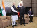 President Putin meets with Indian Prime Minister Modi