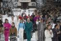 CHANEL runway show during Paris Fashion Week