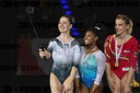 シモーン・バイルス Gymnastics World Cup Stuttgart
