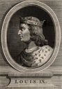 Louis IX known as St Louis (1215-70) a member of the Capetian dynasty