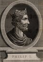 Philip I (1052-1108) a member of the Capetian dynasty.