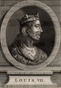 Louis VII (1120-1180) king of France from 1137