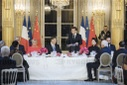 Xi Jinping State dinner at the Elysee Palace - Paris
