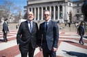 Maas and Le Drian speak at Columbia University