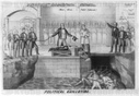 Political guillotine by Henry Robinson