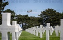 D-Day - military cemetery in Colleville-sur-Mer
