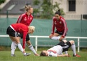 Before the Women's Football World Cup in France - Training Germany
