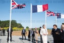 75th Anniversary Of D-Day landings - Macron And May Meet Veterans