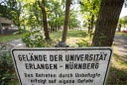 Remediation backlog at the University of Erlangen-Nuremberg