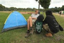Action alliance begins with construction of protest camp in Viersen