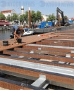 New jetties for sport boat harbour