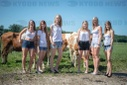 Photo shooting for the calendar of young women farmers 2020
