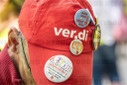 Verdi rally on collective bargaining round in retail trade