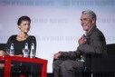 """Fashion meets Politics"" - Wagenknecht and Joop in conversation"