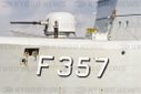 "The danish frigate F 357 ""Thetis"" in Kiel"