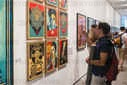 Shepard Fairey exhibition opening - Paris