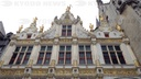 Town hall of Bruges belgium.