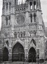 Photograph of the exterior of the Cathedral of Amiens.