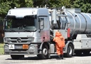 Leak in a dangerous goods transport on the A2