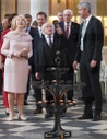 Continuation of the state visit of the Irish President Michael D. Hig