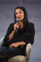 Nadia Nadim PSG football player attends the Education and development G7 - Paris