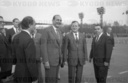 French Prime Minister Jacques Chirac visits USSR