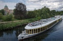 Excursion ship on the Havel river