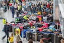 Disturbance during baggage handling at Düsseldorf Airport