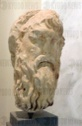 Marble head of a philosopher from Athens